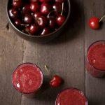 Gaspacho de cerejas