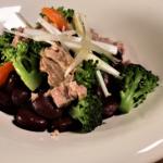 Salada de Atum, Feijão, Brócolos e Batata