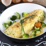 Omelete de brócolos