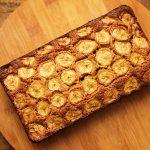 Bolo de banana, aveia e mel – Sem farinha