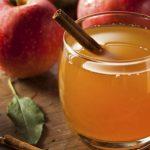 Infusão de maçã, gengibre e canela