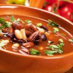 Sopa de Feijão com Cenoura