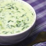 Sopa cremosa de Espinafres