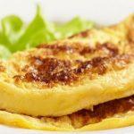 Omelete proteica com claras