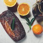 Bolo de laranja e côco