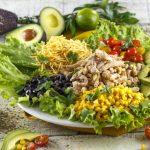 Salada de verão com frango