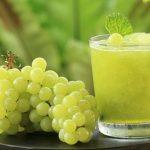 Smoothie de uva verde